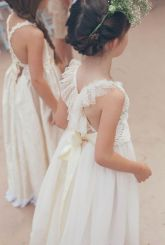 Cute bridesmaid dresses for little girls ideas 13
